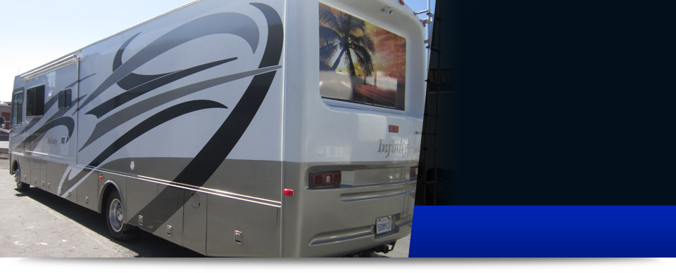RV RV MOTORHOME RV Graphics RV Detailing San Bernardino CA - Custom rv vinyl decals